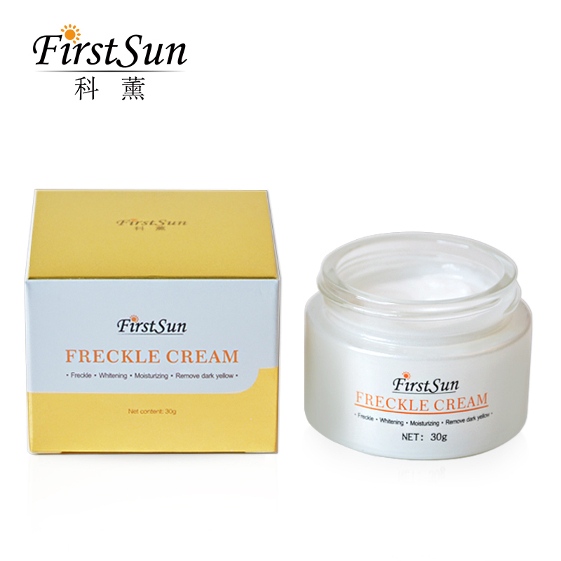 30g Strong Freckle whitening cream face care Fade Speckle melasma pigment Melanin sunburn Acne brown Spots Corrector Skin Serum flawless kaş bıyık tüy epilasyon aleti
