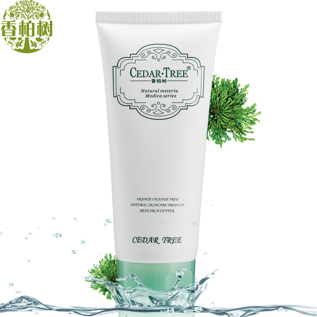 CEDARTREE Refreshing Seaweed Facial Cleanser Moisturizing Deep Cleansing Skin Care Whitening Face Exfoliating Beauty Ageless