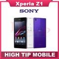 "Телефон Sony, l39h Xperia Z1 L39h разблокированный четвёрка - ядро 2 гб + 16 гб память 20.7MP камера 5,0 "" экран отремонтированный"