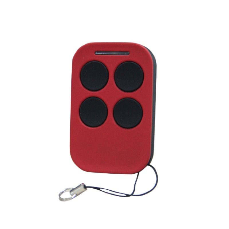 4 button remote control transmitter used for gates and garage door operating equipments remote service discovery and control