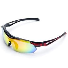 UV400 Polarized Cycling Glasses Bicycle Eyewear Motorcycle Bike Sunglasses Set Unisex Protective Goggles Oculos Ciclismo 5 Lens