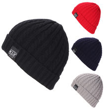 KLV Men Women Baggy Warm Crochet Winter Wool Knit Ski Beanie Skull Slouchy Caps Hat(China)