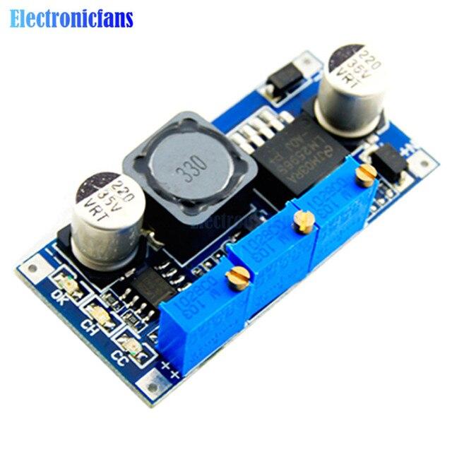 LM2596 Step Down Power Supply Module DC-DC 7V-35V To 1.25V-30V 3A Adjustable Voltage Regulator Converter LED Driver for Arduino
