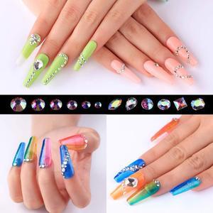Image 5 - Makartt Nail equipo de diamante de imitación pegamento de diamantes de imitación de uñas profesional Gel UV/LED con gemas de Arte de uñas piedras, lentejuelas de brillo, cepillo 2 en 1
