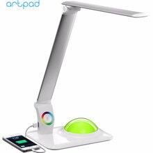 Artpad современная настольная Светодиодная лампа 9 Вт с зарядным