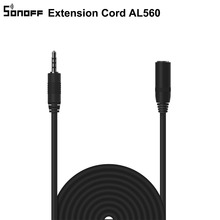SONOFF Extension Cord AL560, Compatible with Si7021/AM2301/DS18B20 5M Extend Cable Max Length 60M, Official Guaranteed  Accuracy