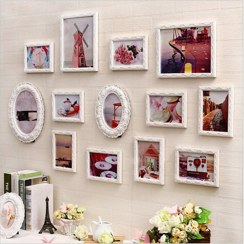 Collage photo frame set molduras para foto creative home for Creative home decorations reviews