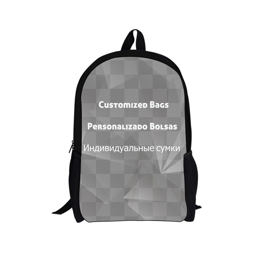 Customized Image Logo Backpack Women Men Travel Bags Compass Children School Bags Boys Girls Book Bag Kids Gift Drop Shipping