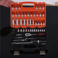 53pcs socket wrench sets sleeve screwdriver head combination screwdriver combination