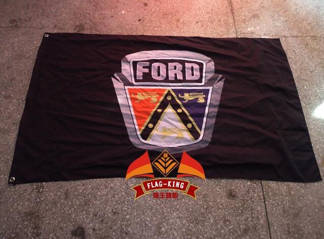 Ford LOGO Brand Flag, Ford New Cars, 100% Flag King Polyster