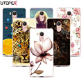 TPU Case For Oukitel U15 Pro Case 5.5 Marble Elsa Lion Flower Tower Transparent Silicone Cover For Oukitel U15 Pro 4g Case Capa