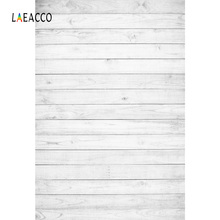 цена на Laeacco White Wooden Board Planks Texture Portrait Grunge Doll Pet Backgrounds Customized Photography Backdrops For Photo Studio