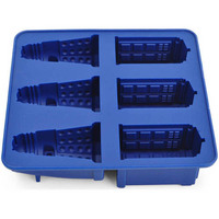 Doctor Who Cocktails Silicone Ice Cube Tray Candy Chocolate Baking Molds Diy Bar Party Drink