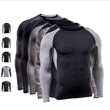 Vertvie Compressed T-shirts Basketball Jersey Breathable Running Sportswear Fitness High Elastic Quick Dry Men's Sport Shirts
