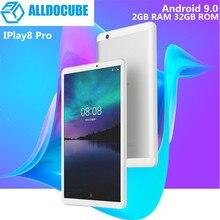 ALLDOCUBE IPlay8 Pro 8,0 дюймов 3G Phablet Android 9,0 MTK8321 1. 3g Гц четырехъядерный 2 Гб ОЗУ 32 Гб ПЗУ 2.0мп камера Поддержка Google Play