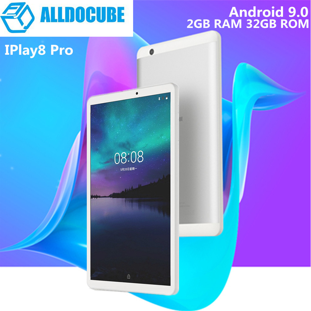ALLDOCUBE IPlay8 Pro 8.0 Inch 3G Phablet Android 9.0 MTK8321 1.3GHz Quad Core 2GB RAM 32GB ROM 2.0MP Camera Support Google Play