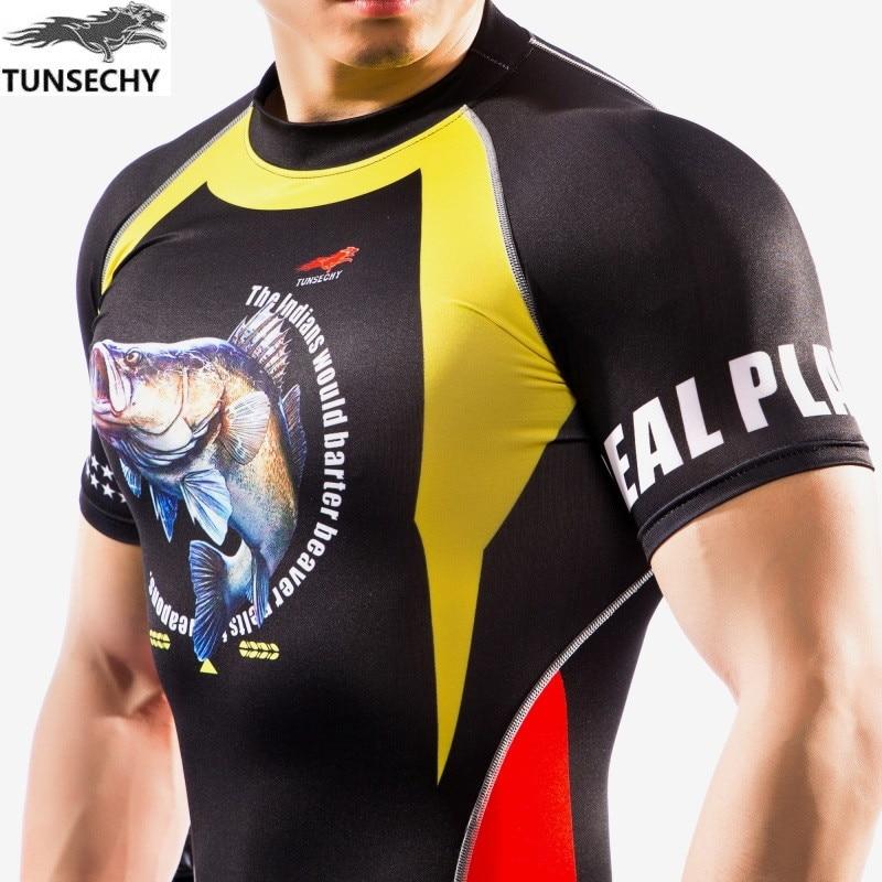 Uusim uusim disain TUNSECHY brändi originaal 3D disain trükkimine - Meeste riided - Foto 4