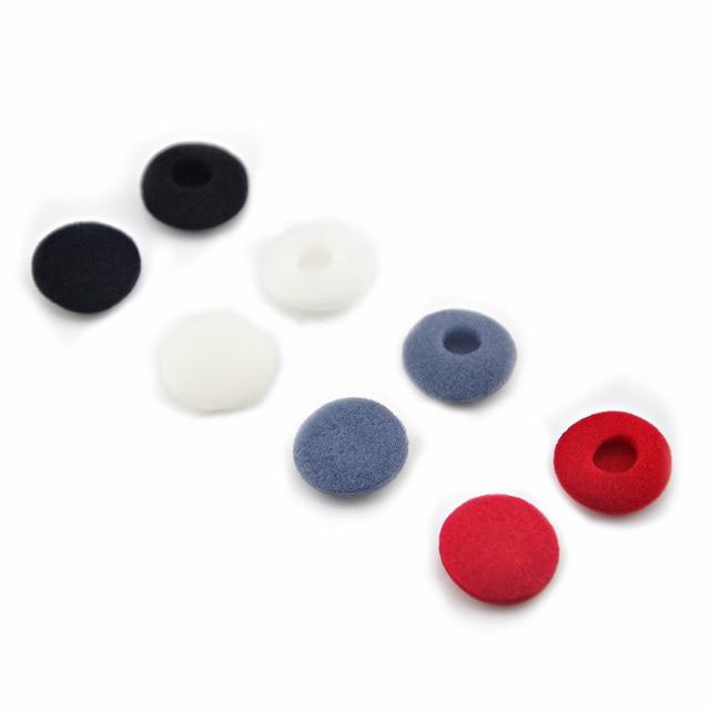 New 8 pair(16 pcs) Imports Ear Cotton Sponge Earmuffs Ear Cotton For Earbuds Earphone Earplug For VE Monks Free Shipping
