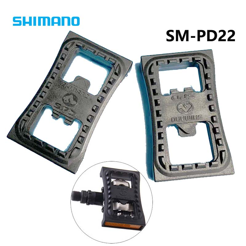 2018 new shimano sm pd22 spd cleat flat pedal for m505. Black Bedroom Furniture Sets. Home Design Ideas