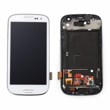 New White Black blue A product Lcd for Samsung Galaxy S3 i9300 LCD Display Touch Screen + Free Ship!!!Better than normal!