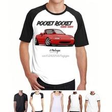 f6da63d5a2306 Fashion Cool Men T shirt Women Funny tshirt MX-5 Miata red Customized  Printed T-Shirt