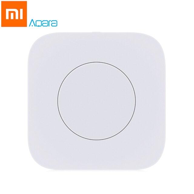 Xiaomi mi jia Aqara inteligente interruptor inalámbrico Control remoto inteligente Aqara aplicación inteligente de mi casa de Control APP