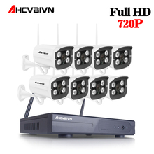 Открытый безопасности Камера Системы Беспроводной 8CH 720 P HD 30 м Ночное видение Водонепроницаемый Главная видеонаблюдения Wi-Fi Камера комплект видеонаблюдения