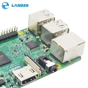 Image 5 - راسبيري Pi 3 نموذج B لوحة 1GB LPDDR2 BCM2837 رباعية النواة راس PI3 B ، PI 3B ، PI 3 B مع واي فاي وبلوتوث