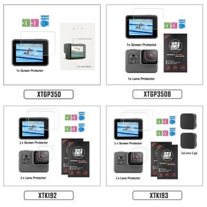 Image 5 - SHOOT Tempered Glass Lens + LCD Screen Protector For GoPro Hero 7 6 5 Hero7 Hero6 Hero5 Black Camera Protective Film For Go Pro