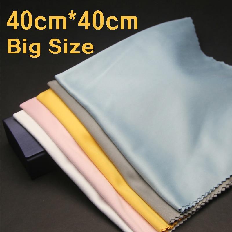 40x40cm large size lens clothes eyewear accessories