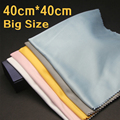 40x40cm Large Size Lens Clothes Eyewear Accessories Cleaning Cloth Microfiber Sunglasses Eyeglasses Camera Glasses Duster Wipes