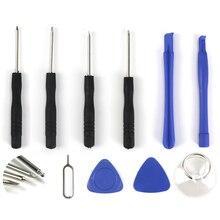 10 ב 1 פתיחת כלים לפרק ערכת עבור iPhone 4 4S 5 5S 6 6 s 6 p 6Sp חכם נייד טלפון תיקון כלי ערכת מברג סט