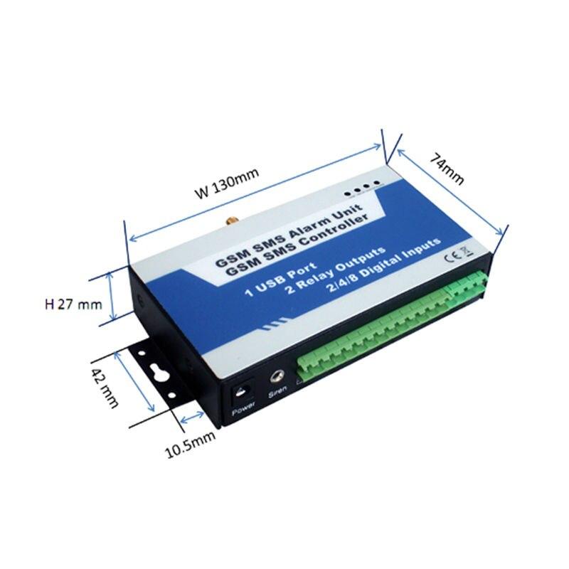 free shipping GSM SMS Controller Alarm unit S150 Power Station Transformer Regulator Stabilizer Monitoring Remote Control Alarm 16 ports 3g sms modem bulk sms sending 3g modem pool sim5360 new module bulk sms sending device