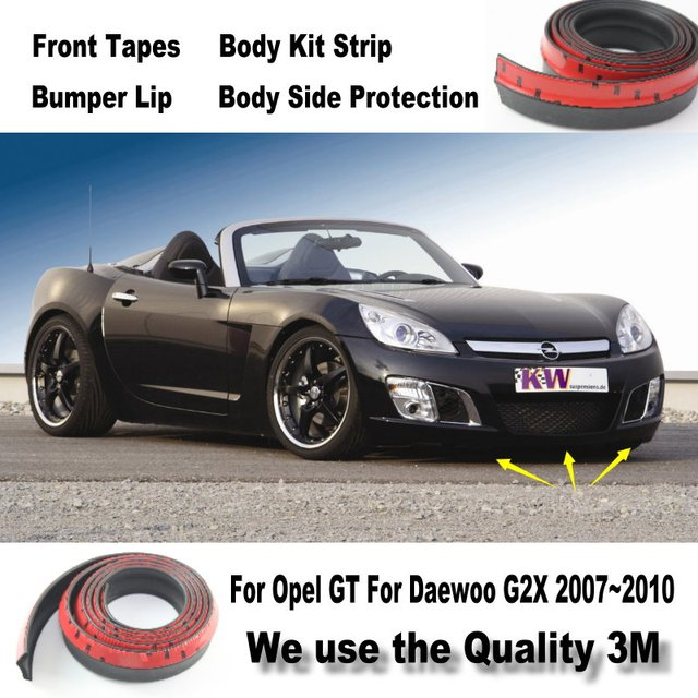 Car Bumper Lips For Opel GT For Daewoo G2X Front Spoiler Deflector Car  Tuning / Body