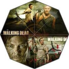 Hot Sale Custom The Walking Dead Adults Universal Design Fashion Foldable Umbrella Good Gift Idea!Free Shipping U30-21