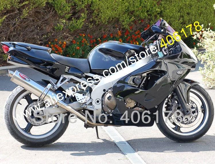 Hot Sales,Fashion Body kit For KAWASAKI Ninja ZX-9R 00-01 ZX9R 2000-2001 ZX 9R 00 01 9R Black body work Motorcycle Fairing