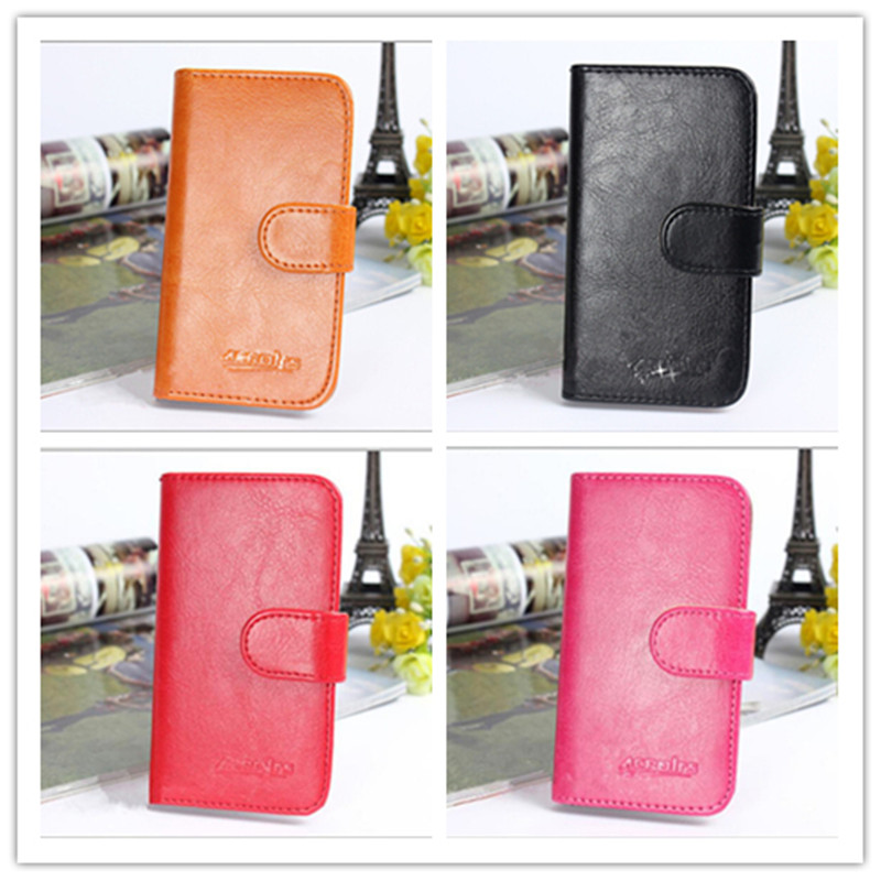New Fashion Holster Noble Flip Leather Wallet Stand Back Cover Cell Phone Leather Case For Nokia 515 / Dual SIM Lumia 515