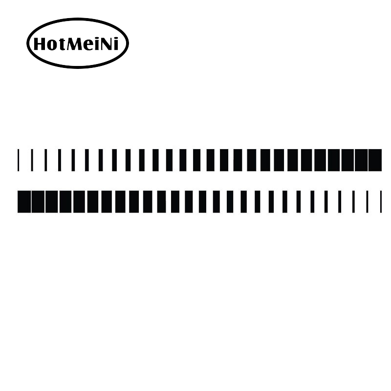 HotMeiNi 2x Tapered Stripe Accelerating Strive Styling Accessories Art Vinyl Decal Hood Door JDM Stripe Car Sticker 13 Colors accelerating road infrastructural delivery in ghana