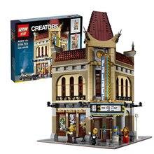 Livraison gratuite LEPIN 15006 2354 pcs Palais Cinéma Modèle Building Blocks set Briques Jouets Compatible avec 10232