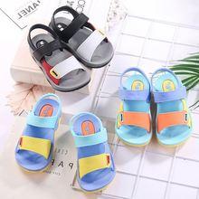 Summer sandals korean version soft bottom wear-resistant little girl sh