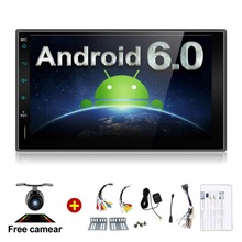 Quad 4 Core 7 INCH 2 Din Android 6.0 Car