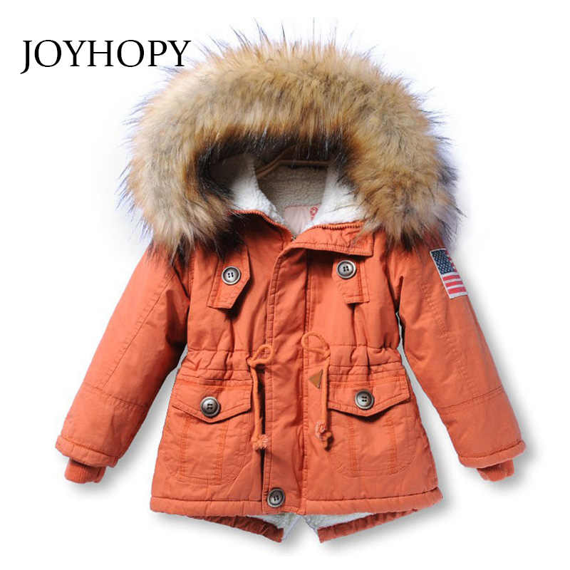 a0c7c6f46 Detail Feedback Questions about Clearance Girls Jackets Kids Coat Faux Fur  Collar Children Winter Outwear Cotton Paddad Girls Boys Coats on  Aliexpress.com ...