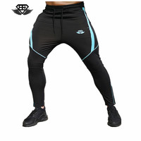 2017 Brand New Gold Medal Fitness Casual Elastic Pants Stretch Cotton Men S Pants Body Engineers