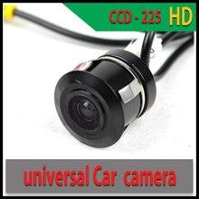 Универсальный Парковка Камера Заднего Вида Автомобильная Камера заднего вида CCD-225 Парктроник Ночного Видения Мини-Автомобиль Видеокамера