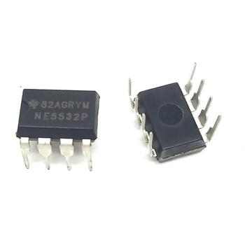 10pcs NE5532N NE5532 5532 Dual Opamp DIP8