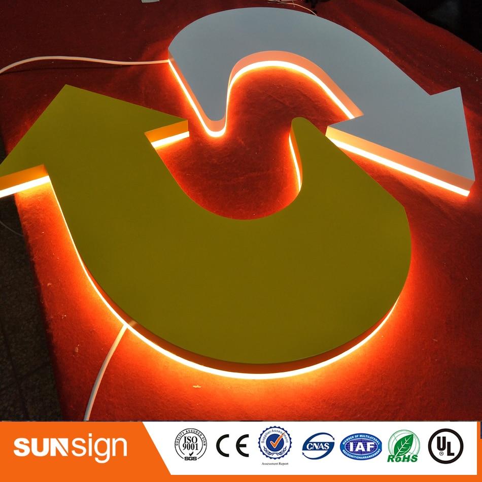 New Design Hot Sale 3D Backlit Letters