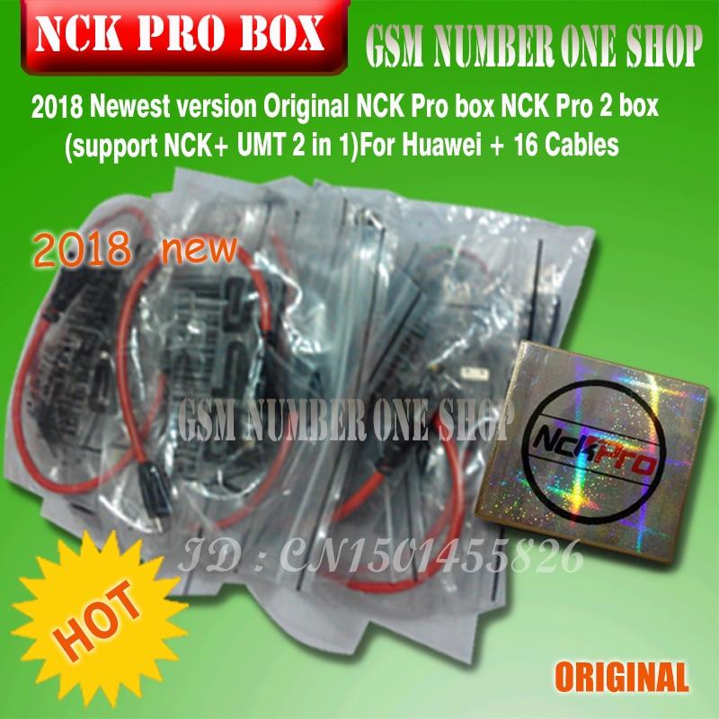 2019 Newest Original NCK Pro box NCK Pro 2 box support NCK UMT 2 in 1