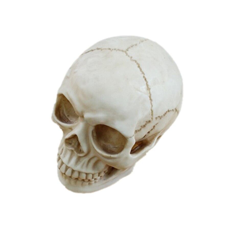 Model Resin Skeleton Party Halloween Decoration Horror Prank Toys Shocker Lizun Gag Gifts Brinquedo Gadgets For Men 80P0008