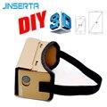Картонная коробка виртуальной реальности JINSERTA Google, 3D очки виртуальной реальности «сделай сам», магнитные очки виртуальной реальности, 3D оч...
