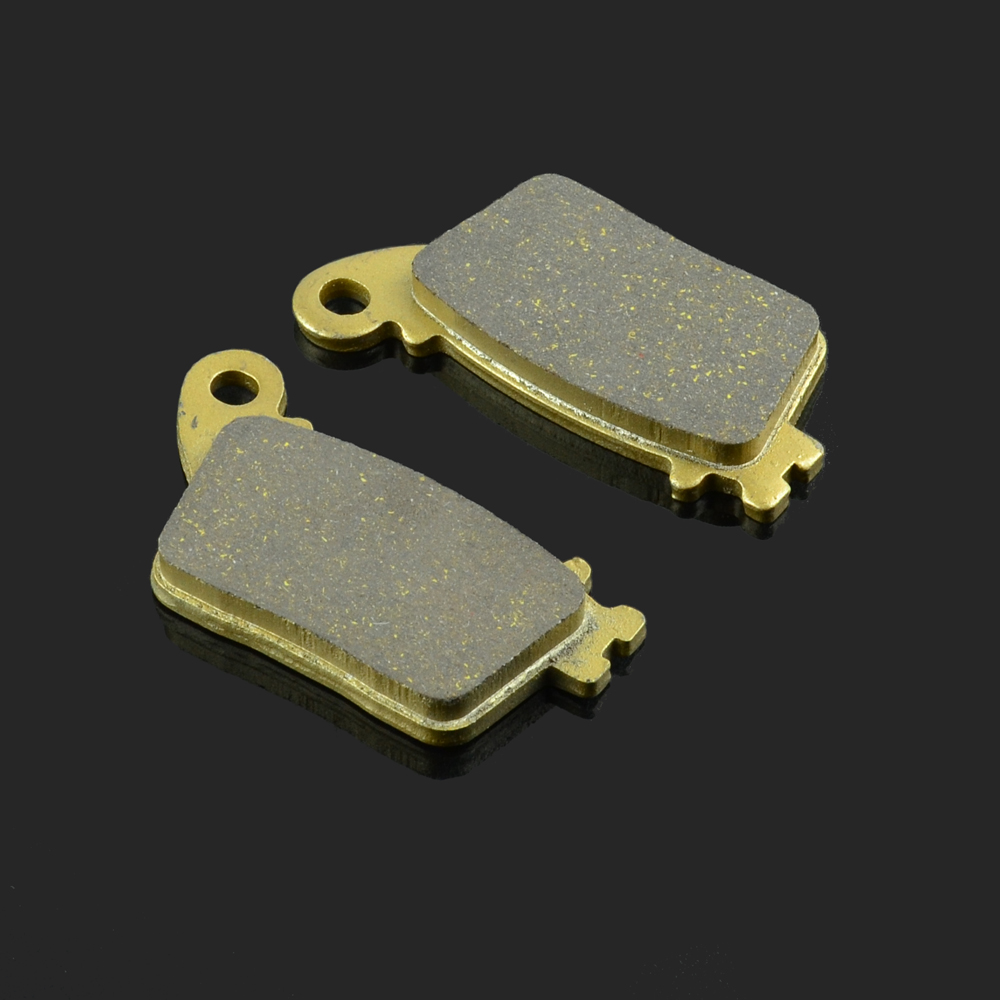 Motorcycle Rear Brake Pads Fit For HONDA CB600 07-13 CBR 600 1000 KAWASAKI ZX-6R 13-15 ZX 10 R 11-15 ZR-10R 30TH 15